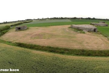 Bunkers 'bombed' by drone