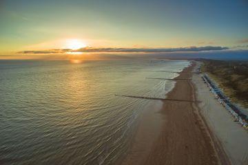 Geniet mee van de zonsopkomst bij Dishoek in Zeeland