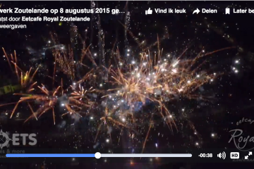 Zomer vuurwerk Zoutelande 2015
