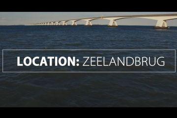 Drone vliegt onder de Zeelandburg door