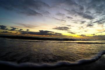 Herfst in Zeeland; zo mooi gaat de zon onder