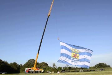 De grootste Zeeuwse vlag ter wereld
